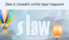 SLAW - Canada's online legal magazine